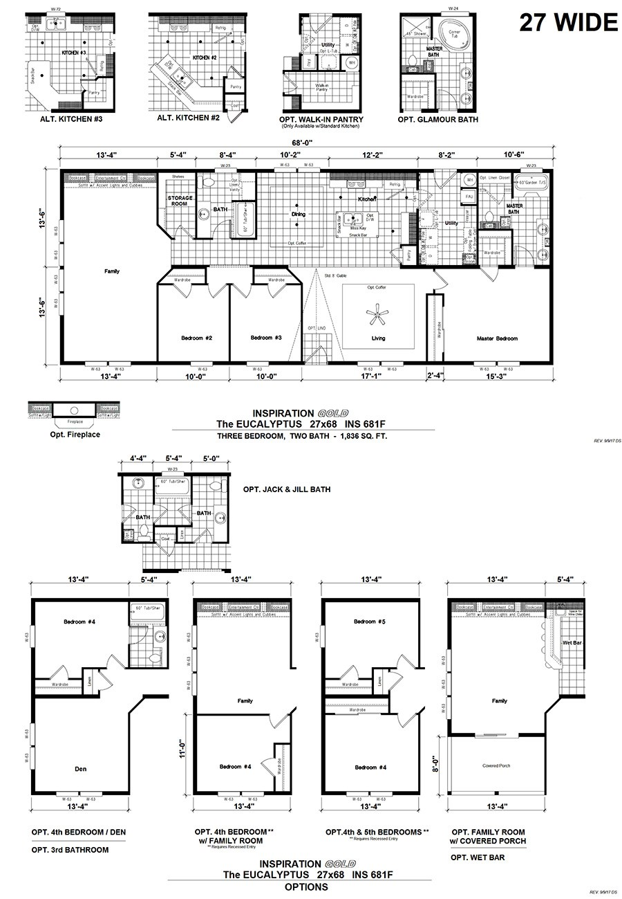 The THE EUCALYPTUS         KARSTEN Floor Plan